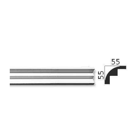 Faseta gipsowa SC17 55x55mm