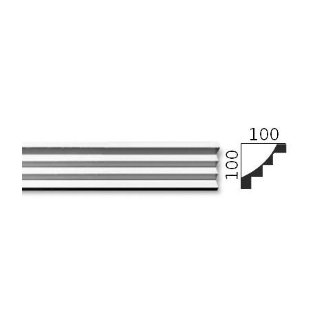 Faseta gipsowa SC18 100x100mm