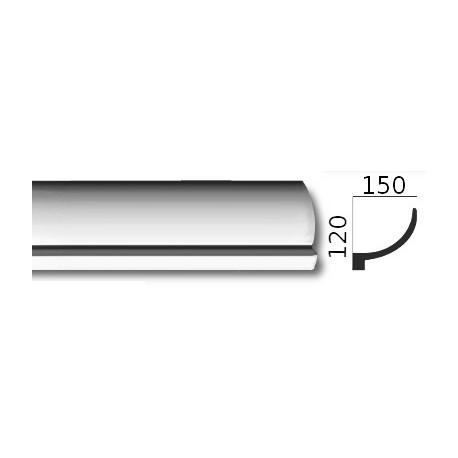 Faseta gipsowa SC13 150x120mm
