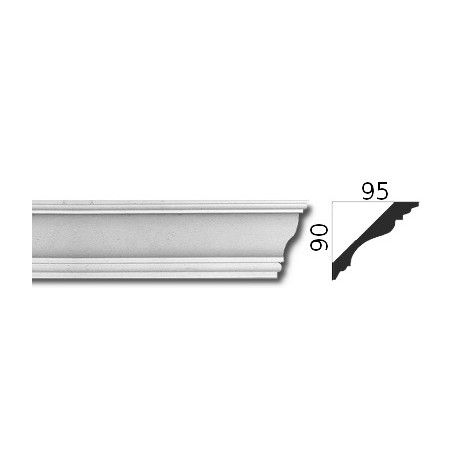 Faseta gipsowa SCE913 95x90mm