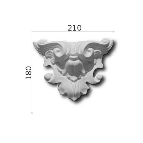 Element ozdobny SMC07 210x180x63mm