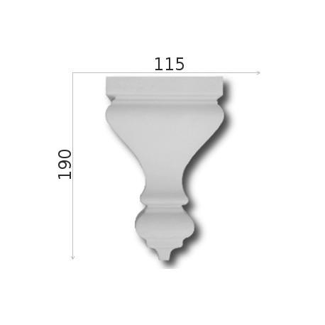 Element ozdobny SMC10 115x190mm