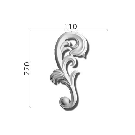 Element ozdobny SMC19 110x270mm