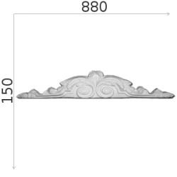 Element ozdobny SMC23 880x150mm