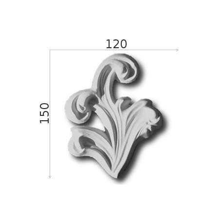Element ozdobny SMC26 120x150mm