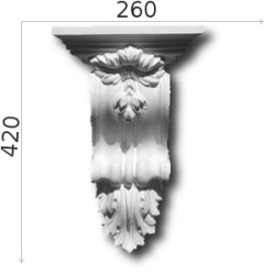 Konsola gipsowa SED05 270x420x135mm