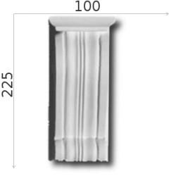 Konsola gipsowa SED06 105x225x110mm