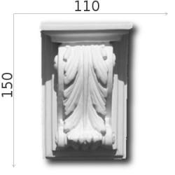Konsola gipsowa SED09 120x150x63mm
