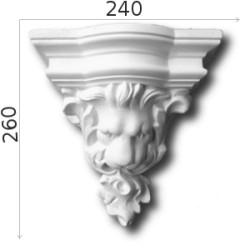 Konsola gipsowa SED013 240x300x155mm