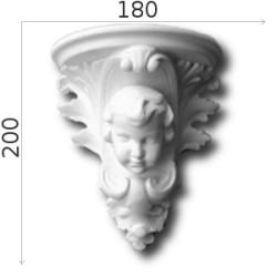 Konsola gipsowa SED014 180x200x110mm
