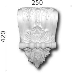 Konsola gipsowa SED024 250x420x120mm