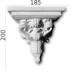 Konsola gipsowa SED027 185x200x150mm