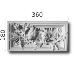 Kratka wentylacyjna SWENT02 360x180mm