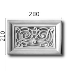 Kratka wentylacyjna SWENT03 280x210mm