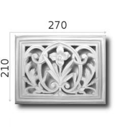 Kratka wentylacyjna SWENT04 270x210mm
