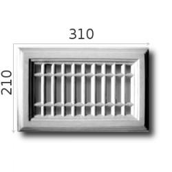 Kratka wentylacyjna SWENT06 310x210mm