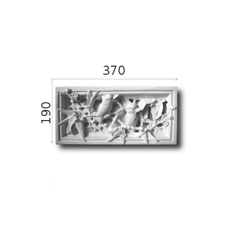 Kratka wentylacyjna SWENT09 370x190mm
