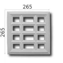 Kratka wentylacyjna SWENT10 265x265mm