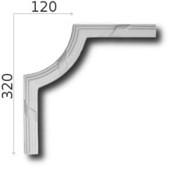Narożnik SNLP07 120x320mm