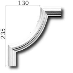 Narożnik SNLP04Wa 130x235mm