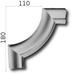 Narożnik SNLP19 110x180mm