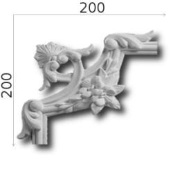 Narożnik SNLP20a 200x200mm