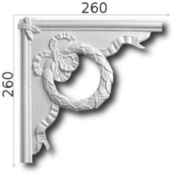 Narożnik SNLP20b 260x260mm