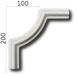 Narożnik SNLP23wa 130x320mm