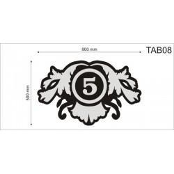 Tablica elewacyjna TAB08 800x500x40mm