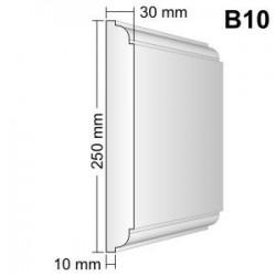 Bonia narożna B10F25N 30x250x250mm natrysk