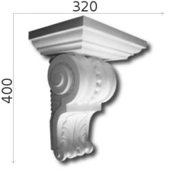 Konsola gipsowa SED011 320x400x230mm