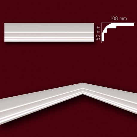 Faseta gipsowa SC07 108x50mm