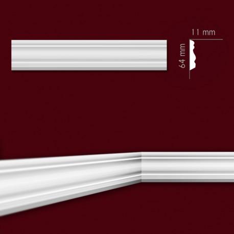 Listwa gipsowa SLP02 11x64mm