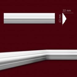 Listwa gipsowa SLP03 22x63mm