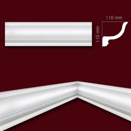 Faseta gipsowa SC26a 110x110 mm