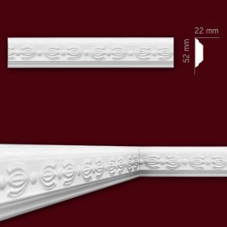 Listwa gipsowa SLP09 22x52mm
