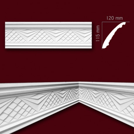 Faseta gipsowa SC32 120x115mm