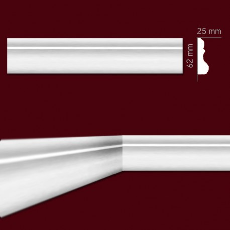 Listwa gipsowa SLP18 20x62mm