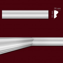 Listwa gipsowa SLP19a 28x55mm