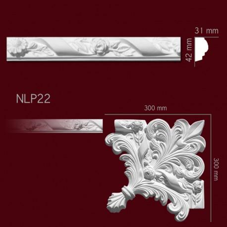Listwa gipsowa SLP22 31x42mm