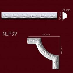 Listwa gipsowa SLP39 25x50mm