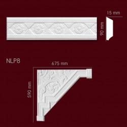 Narożnik SNLP8 675x590mm