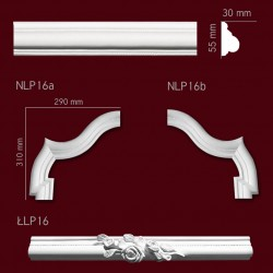 Narożnik SNLP16b 290x310mm