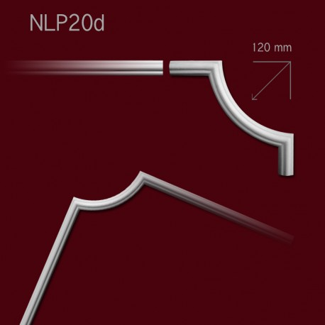 Narożnik SNLP20d 120x270mm