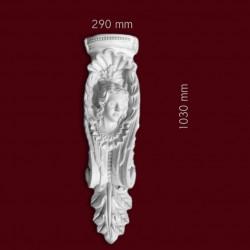 Konsola gipsowa SED40L 290x1030x150mm
