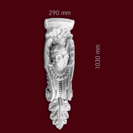 Konsola gipsowa SED40P 290x1030x150mm
