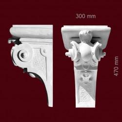 Konsola gipsowa SED42 300x470x300mm