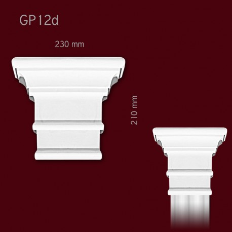 Głowica SGP12d(do pilastra SPL12)
