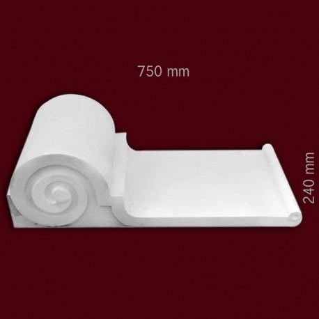 Element ozdobny SMC31 750x240x330mm
