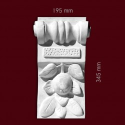 Element ozdobny SMC44 195x315x100mm